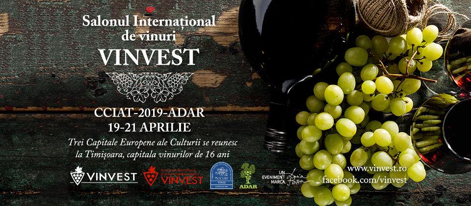 VINVEST 19-21 aprilie 2019, Timisoara